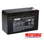 Baterie olověná 12V/ 7,5Ah MOTOMA bezúdržbový akumulátor