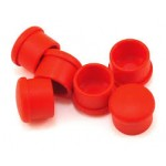 CAP FOR 18MM HANDLE - RED (6)