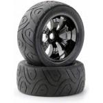 AKCE - Silniční pneu 1:8 včetně disků typ truggy