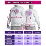 HUDY SWEATER - WHITE (XL)