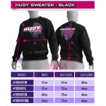 HUDY SWEATER - BLACK (XXL)