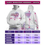 HUDY SWEATER HOODED - WHITE (XXXL)