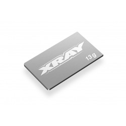 XRAY PURE TUNGSTEN CHASSIS WEIGHT 13g