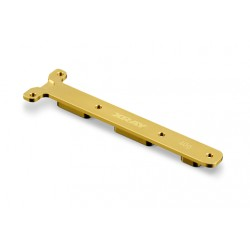 BRASS REAR CHASSIS BRACE WEIGHT 40G