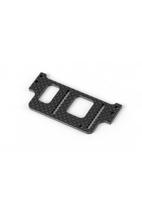 X1-19 GRAPHITE REAR WING MOUNT 2.5MM
