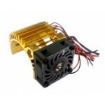 ALU chladič pro motory 540/550 s ventilátorem
