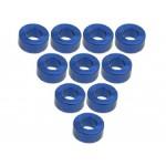 ALU sloupky M3x2.5mm (10 ks) - Modré