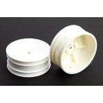 1/10 Buggy disky přední - 2ks (bílé) - HEX-12mm