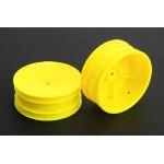 1/10 Buggy disky přední (žluté) - 2ks