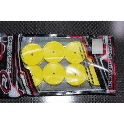 55x38mm 2WD+4WD Rear Wheels 12mm*8pcs(Yellow)For IFMAR-#1