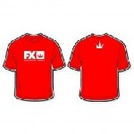FX T-SHIRT RED (S až XXL)