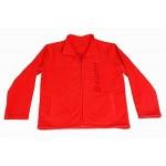 Fleece bunda GRAUPNER červená
