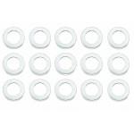 Vymezovací podložky 5x8x0,1mm (15ks) Ocelové