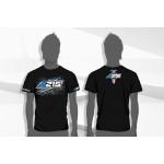 A215 Black T-shirt (3L)