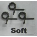 Alpha pružinky spojky 3ks. 1,0mm - měkké