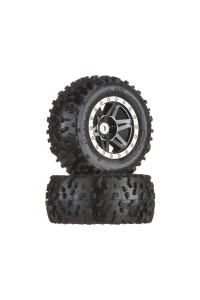 Arrma AR550002 Kolo s pneu Dboots Sand Scorpion XL černá/chrom (
