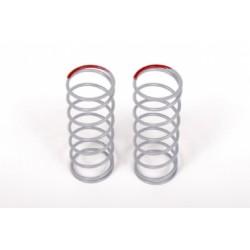 AKCE - Pružina tlumičů 12.5x40mm 2.7 lbs/in - Super Soft (červené) - (2 ks.)