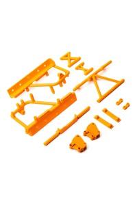 Axial vzpěry rámu, lože baterie oranžové: RBX10