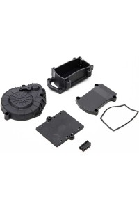 Axial držák RC výbavy černý: RBX10