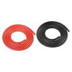 Corally silikonový kabel Super Flex 14AWG červený + černý (1m)