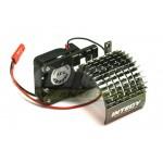 ALU chladič s ventilátorem 30mm pro motory 540/550