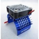 ALU chladič s ventilátorem 40x40mm pro motory 750 - 1/8
