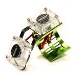Twin Cooling Fan + Heatsink for 540/550 Size Motor w/ 36mm