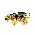 Konektory GOLD 6mm samice (4ks)