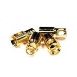 Konektory GOLD 6mm samice (4ks)
