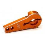 ALU páka serva 25T (Futaba, Savox, Thunder) (r=20 24mm) oranžová