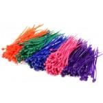 Stahovací pásky barevné MIX - (500KS)