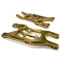 Billet Machined Front Lower Suspension Arm (2) for Axial 1/10 Yeti Rock Racer