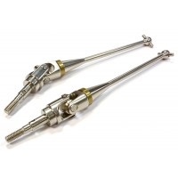 Billet Machined Front Universal Drive Shaft (2) for Axial 1/10 Yeti Rock Racer