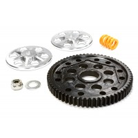 Billet Machined Steel Spur Gear Conversion Kit for Axial 1/10 Yeti Rock Racer