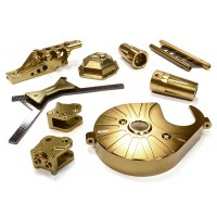 Billet Machined Stage 3 Hop-Up Set for Axial 1/10 Yeti Rock Racer