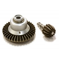Replacement Bevel Gear Set for C26099 Type Rear Axle on Axial 1/10 Yeti Buggy