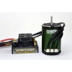 Castle motor 1410 3800ot/V senzored 3,17mm, reg, Sidewinder SCT