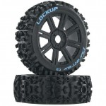 Lockup Buggy Tire Mounted Spoke (2) (17mm SK) 1/8