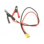 Napájecí DC kabel s krokodýlky - XT60 (DYNC2040/DYNC2050)