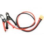Napájecí DC kabel s krokodýlky - XT60
