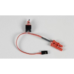 Přijímačový vypínač s FG G2 konektorem/JR-Graupner konektorem 1ks