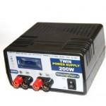 Zdroj stabilizovaný 200W 230V/13.8V 15A TwinOutput