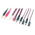 Nabíjecí kabel s banánky - JR-Tx/FUT-Tx/Rx/TAM/DNS