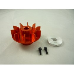 AKCE - Drive Wheel & Fan for Thunder Tiger Raptor 30