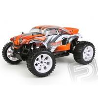 AKCE - HiMOTO Beetle Truck 1:10 elektro RTR set 2,4GHz oranžová