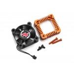 Adaptér větráčku s chladičem - oranžový