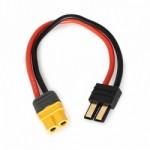 Nabíjecí kabel XT60/TRAXXAS, délka 150mm