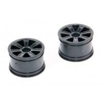 AKCE! Zadní disky, černé, 2ks. - S10 Twister - 1/10 2WD Buggy