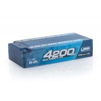P5-HV Real Shorty LCG GRAPHENE 4200mAh Hardcase - 7,6V - 120C/60C