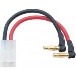 LRP LiPo Hardcase adaptér - 4mm/G4 na TAMIYA/JST (90°)